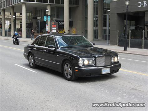 bentley canada bentley arnage spotted in toronto canada on 05 06 2014
