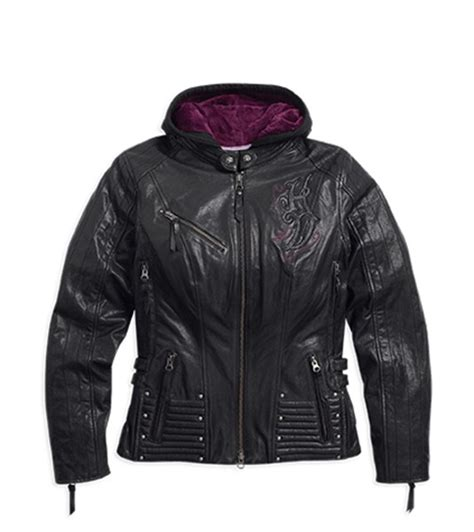 Harley Davidson 3 In 1 Jacket by Harley Davidson Womens Avangeline 3 In 1 Leather Jacket