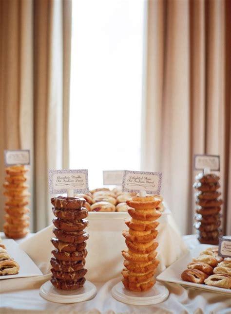 cool  fun donut bar ideas   wedding wedding