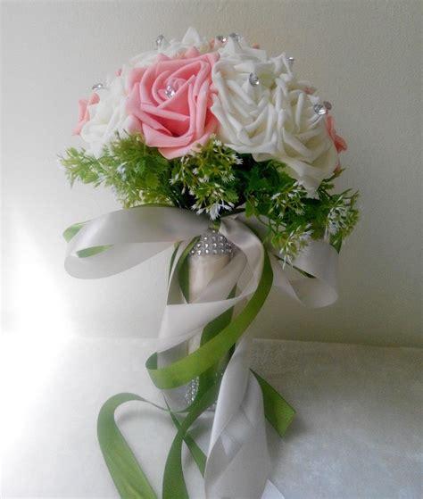 Bunga Tangan Pengantin foam roses bridal bouquet bun end 8 14 2016 10 15 am