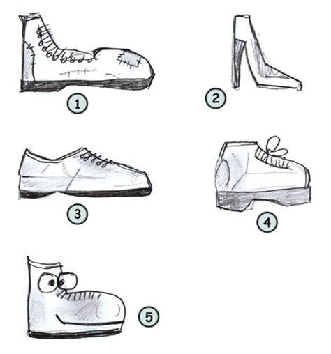 how to draw a running shoe step by step drawing shoes
