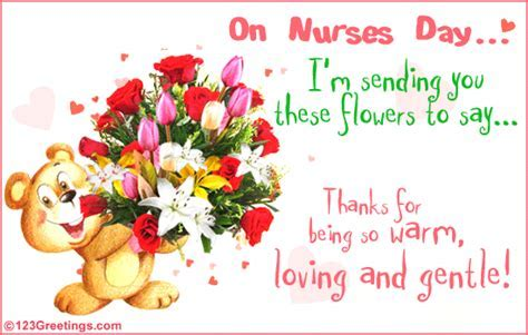 Loving And Gentle! Free Nurses Day eCards, Greeting Cards