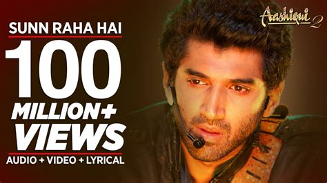 theme music aashiqui 2 sunn raha hai na tu aashiqui 2 full song with lyrics