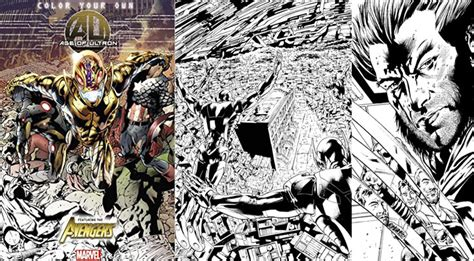 Color Your Own Age Of Ultron Tp Marvel Coloring Book Buku 10 Best Coloring Books For Adults We Chose Our Favorites