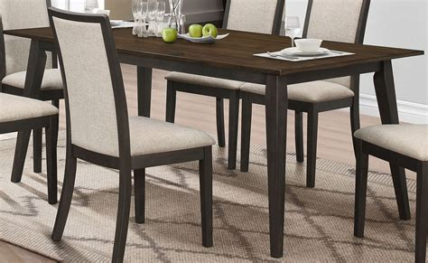 Black And Oak Dining Table Studio 26 Antique Oak And Black Dining Table D2626 10 New Classics