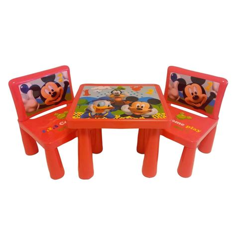 mickey mouse table set mickey mouse clubhouse table and chair set decor