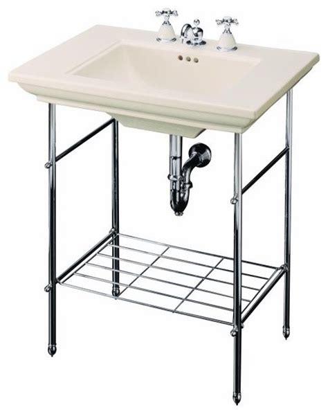 console bathroom sinks with chrome legs console home decorating excellence