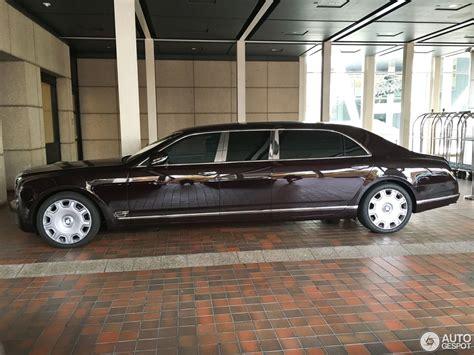 bentley mulsanne limousine bentley mulsanne grand limousine 17 august 2016 autogespot