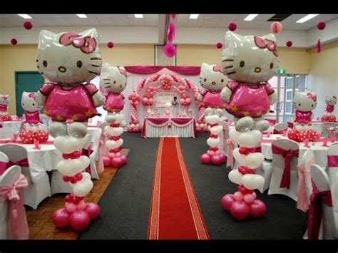 Http Www Atvnetworks Com Hello Kitty Theme Decorations Hello Centerpieces For Birthday