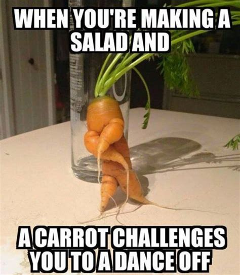 Vegetable Meme - new carrot salad recipes dancing while you cooking