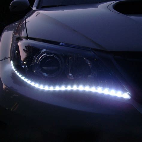Led Light Strips Cars Aliexpress Buy Waterproof Car Auto Decorative Led Highpower 12v 30cm 15smd