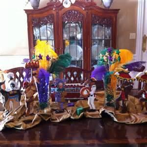 Mardi Gra Decorations by Mardi Gras Table Decor Holidays