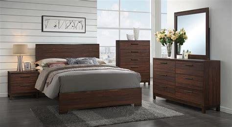 bedroom furniture edmonton coaster edmonton bedroom set tobacco 204351 bedroom set