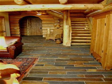 log cabin flooring ideas log log cabin slate floor log cabin interiors log cabin floors treesranch