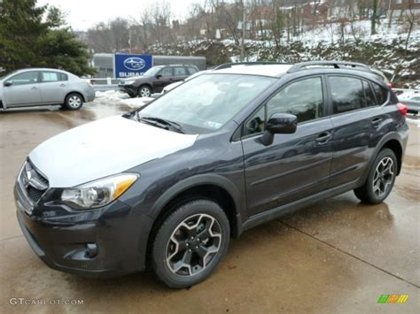 grey subaru crosstrek 2013 dark gray metallic subaru crosstrek 2 0 premium
