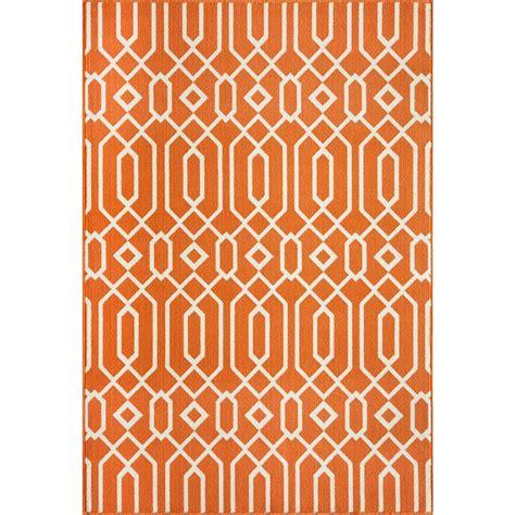 Orange Outdoor Rug Momeni Baja Orange 7 Ft 10 In X 10 Ft 10 In Indoor Outdoor Area Rug Baja0baj 3org7aaa The