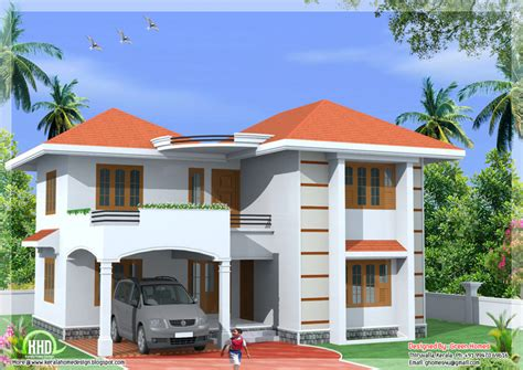 home design for house home design sqfeet storey home design indian house plans