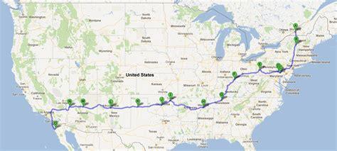 route 66 road map usa infos sur route 66 carte usa arts et voyages
