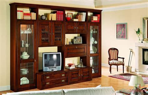 mobili soggiorno in legno massello soggiorno classico stella
