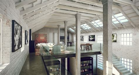 industrial design interior adalah industrial lofts