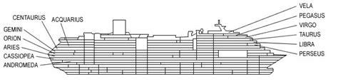 costa serena cabine interne cat 233 gories et cabines du bateau costa serena costa