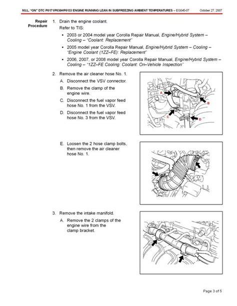 Check Engine Light Toyota Corolla 2006 Check Engine Light P0133 For Toyota Corolla Problem Happens