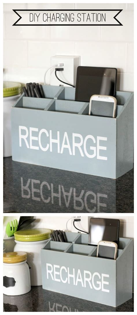 charging station organizer diy 14 diy organization ideas craft teen
