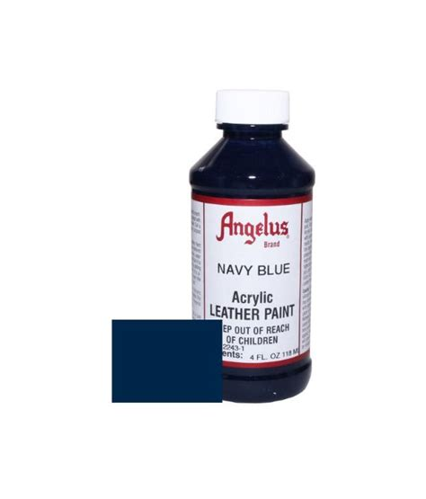 angelus paint discount angelus acrylic paint 4oz navy leather buy at