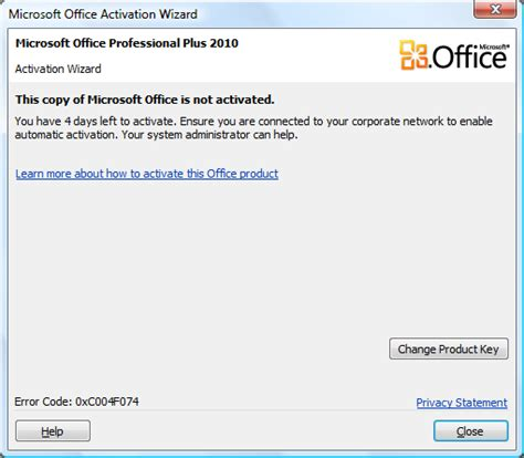 Microsoft Office Activation Key by Microsoft Office 2010 Beta Product Activate
