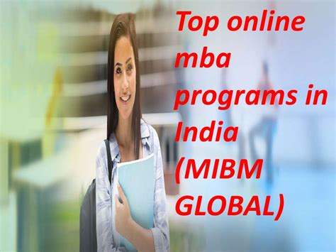 Best Distance Mba Programs 2014 In India by Make A Career In The Top Mba Programs In India