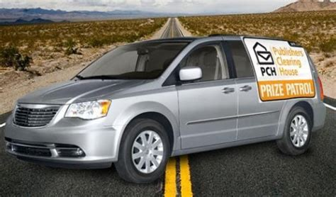 Publishers Clearing House Prize Patrol Van - a self driving prize patrol van pch blog