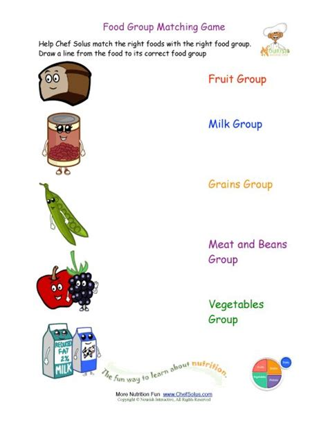 activity 3 carbohydrates puzzle answers printable match the foods to the food worksheet