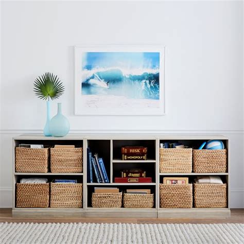 Stack Me Up Low Bookcase Set Pbteen