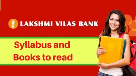 lakshmi vilash bank lakshmi vilas bank po books to read with syllabus and pattern