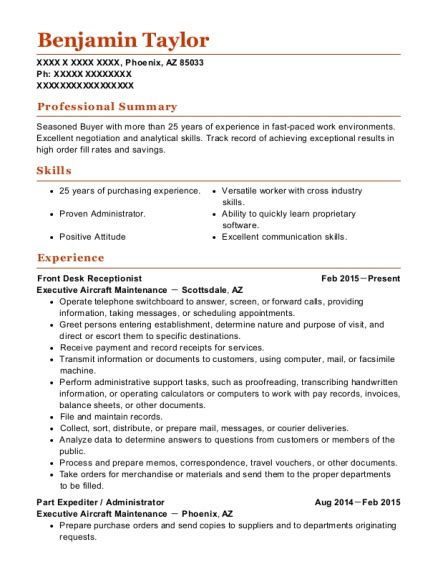 Expeditor Resume Best Parts Expediter Resumes Resumehelp