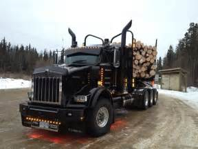 Wheels Log Truck 17 Best Images About Black Kw T800 Logging Truck On