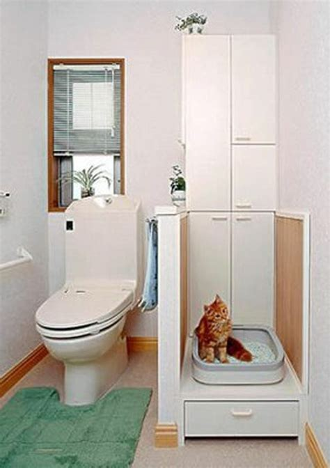 litter box in bathroom 1000 images about clever litter boxes on pinterest cat