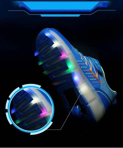 roller skates with led lights shoes led lights children roller skate shoes heelys