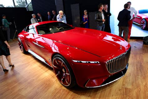 vision mercedes maybach 6 concept coupe all electric