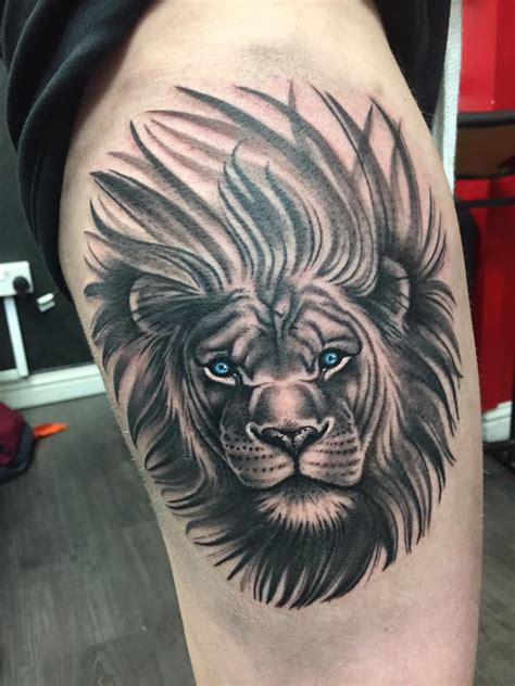 lion side tattoo 56 tattoos ideas to show strength and bravery