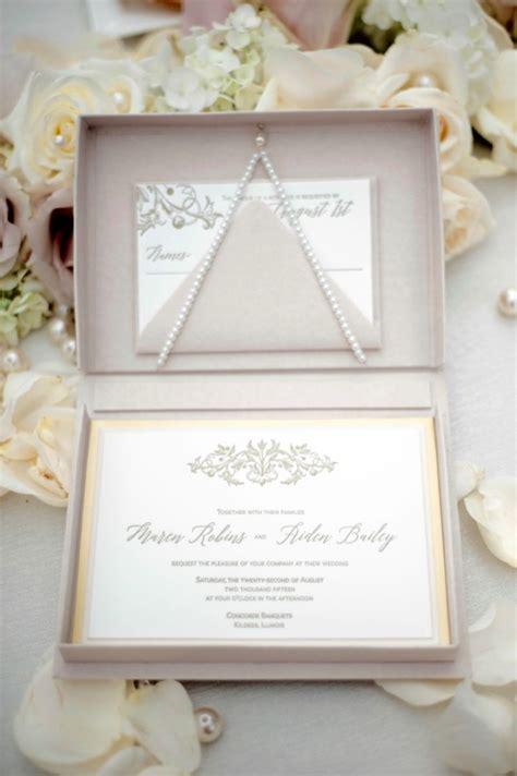 Wedding Invitation Card Box by Lucky Invitations Box Invitations Custom Stationery And