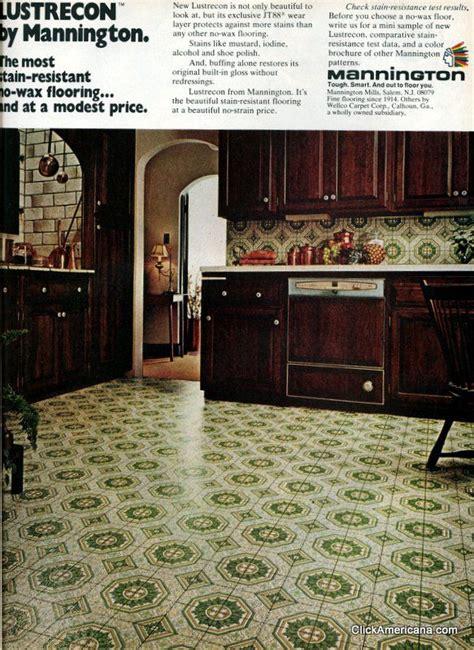 groovy vintage vinyl floors