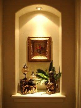 home remodeling improvement idea alcoves niche decor