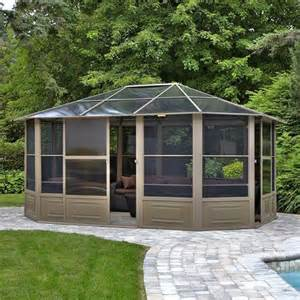 Metal Roof Gazebo Canada by Gazebo Penguin 41215 15 5 Ft X 12 Ft Four Season Solarium
