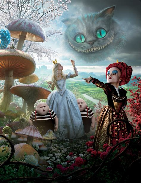 alice in wonderland 2010 poster hd wallpaper for iphone 6