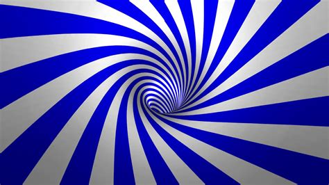 spiral background hypnotic spiral blue and white background in 3d motion