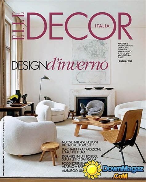 january decorations home elle decor italia december 2014 january 2015 187 download