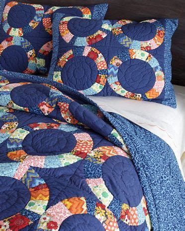 Garnet Hill Quilt by Piccadilly Circle Quilt And Sham Garnet Hill Sewing