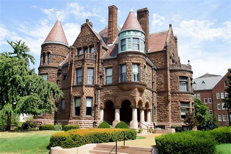 Victorian Style Mansions what is the romanesque revival house style