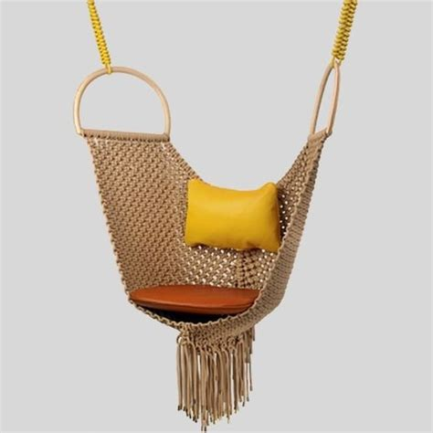 swing objects patricia urquiola s swing chair for louis vuitton s